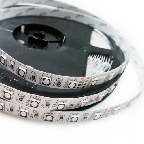 Single Row Super Bright RGB Series DC12&24V 5050SMD 300LEDs Flexible LED Strip Lights 16.4ft Per Reel By Sale